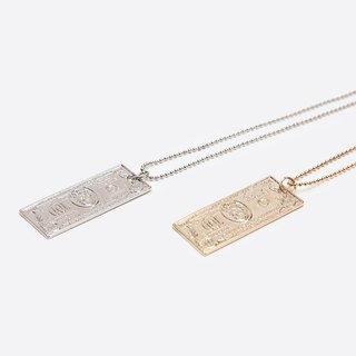 GOOTS / Paper Money Necklace necklaces Banknotes