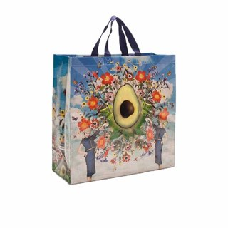 Blue Q large shopping bag - Avocado Avocado (double strap)