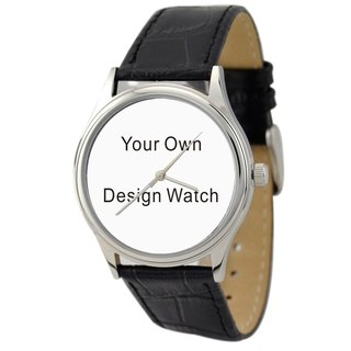 Design Your Own Watch With Engraved case back - Free shipping