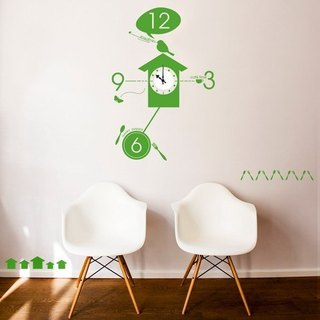 / Gugu / Wall Sticker Clock / ECO-Material
