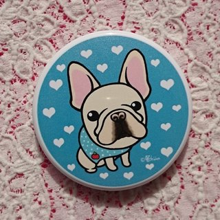 Pocket Mirror-Pug's French Bulldog Friend (Zai Zai)