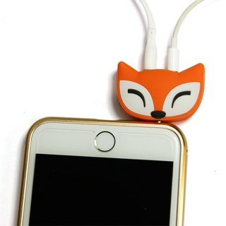 [DCI] two-hole animal audio sharing device (fox fox / Meng Meng cat)