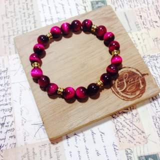 S & amp; A Rose beaded bracelet