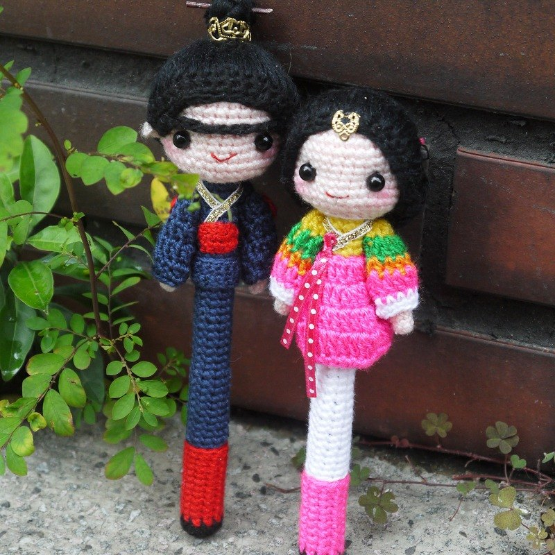 """Wool Hands"" ♥ ♥ Korean kimono styling signature pen"
