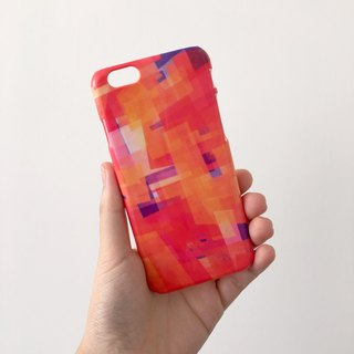 Abstract Art pattern tangelo orange 104 3D Full Wrap Phone Case, available for  iPhone 7, iPhone 7 Plus, iPhone 6s, iPhone 6s Plus, iPhone 5/5s, iPhone 5c, iPhone 4/4s, Samsung Galaxy S7, S7 Edge, S6 Edge Plus, S6, S6 Edge, S5 S4 S3  Samsung Galaxy Note 5,