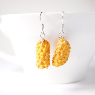 *Playful Design* Mini Egg Puffs Drop Earrings