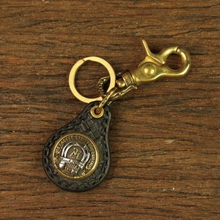 [METALIZE] MT-Horseshoe Leather Key Chain MT Horseshoe Keyring