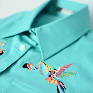 humming-繡花襯衫-Embroidered Shirts-HWS1307-01