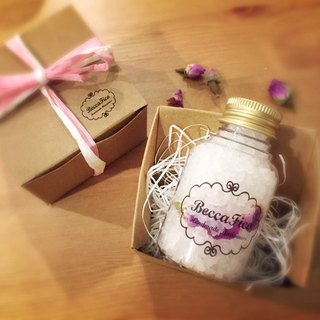 Floral Essential Oil Bath Salt_Mini Gift Package 80g