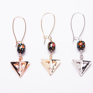 【TIWS】Guardians of the Light - Strength - indigenous handmade glass bead Earrings