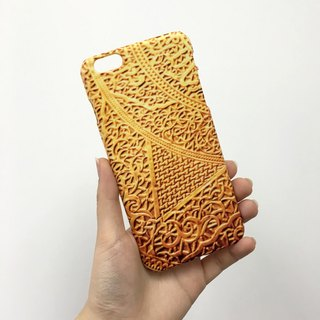 Golden Ornament 120 3D Full Wrap Phone Case, available for  iPhone 7, iPhone 7 Plus, iPhone 6s, iPhone 6s Plus, iPhone 5/5s, iPhone 5c, iPhone 4/4s, Samsung Galaxy S7, S7 Edge, S6 Edge Plus, S6, S6 Edge, S5 S4 S3  Samsung Galaxy Note 5, Note 4, Note 3,  No