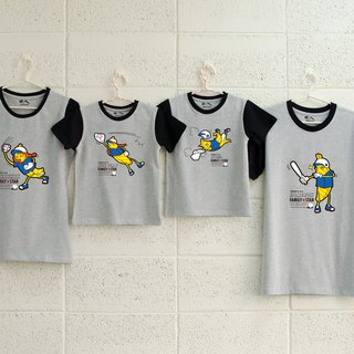 [Banana baseball team (big boy / father)] parent-child / short-sleeved T-shirt