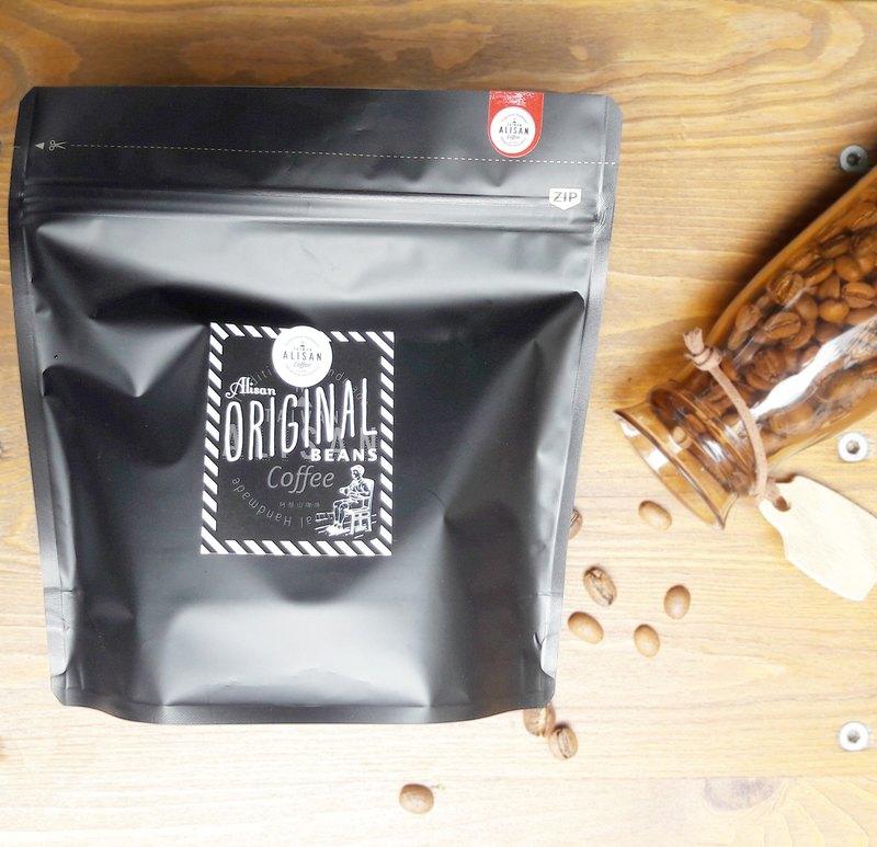 阿里山咖啡豆 日曬 淺焙 自家烘焙 精品咖啡 200g