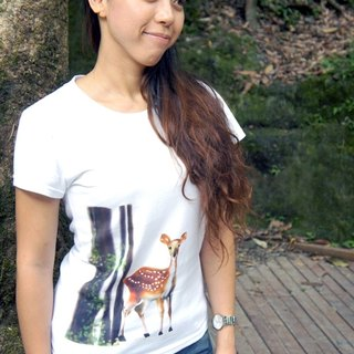 Taiwan sika deer T-shirt (girls section)