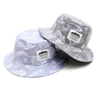 Filter017 -漁夫帽Outdoor Graphics Pattern Oxford Bucket Hat