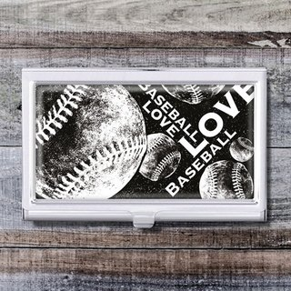 Baseball Game - Business Card Holder / Card Case / Office Worker Accessories [Special U Design]