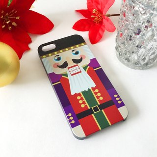 Christmas Series -Nutcracker Color 1 Print Soft / Hard Case for iPhone X,  iPhone 8,  iPhone 8 Plus,  iPhone 7 case, iPhone 7 Plus case, iPhone 6/6S, iPhone 6/6S Plus, Samsung Galaxy Note 7 case, Note 5 case, S7 Edge case, S7 case