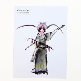 Peking Opera Peking Opera Blues Ink postcards {}
