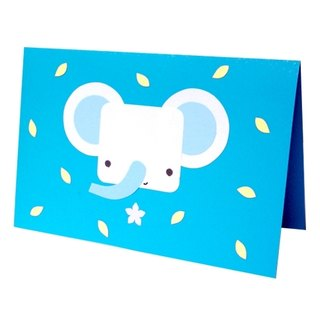 Handmade card _ cute elephant... universal card, birthday card