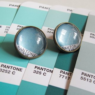 PANTONE 325 swatches circular ear clip ear acupuncture