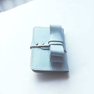 Leather mini wallet purse all purpose for card and money notes