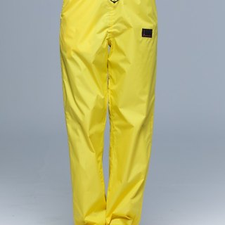 Paris Rainbow ~ Lightweight Wrapped Shoe Cover Rain Pants / Sunshine Yellow