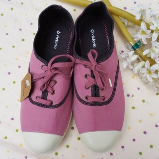 Victoria Spanish national handmade shoes - (lace models) pink rose (out of print)