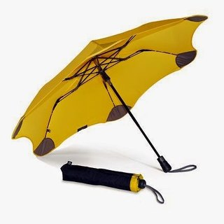 [BLUNT Paulant] XS_METRO Anti-Strong Wind Folding Umbrella - Candy Yellow
