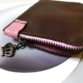 Banknote purse - Crown chocolate