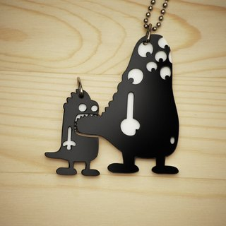 【Peej】'But, I Like You' Double layered Acrylic key chains/necklaces