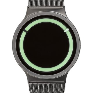 <Glow> cosmic eclipse watches ECLIPSE Steel (Bronze / mint green, Gunmetal / Mint))