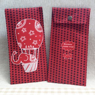 [NEW] rice flower green red envelopes - Elephant Edition