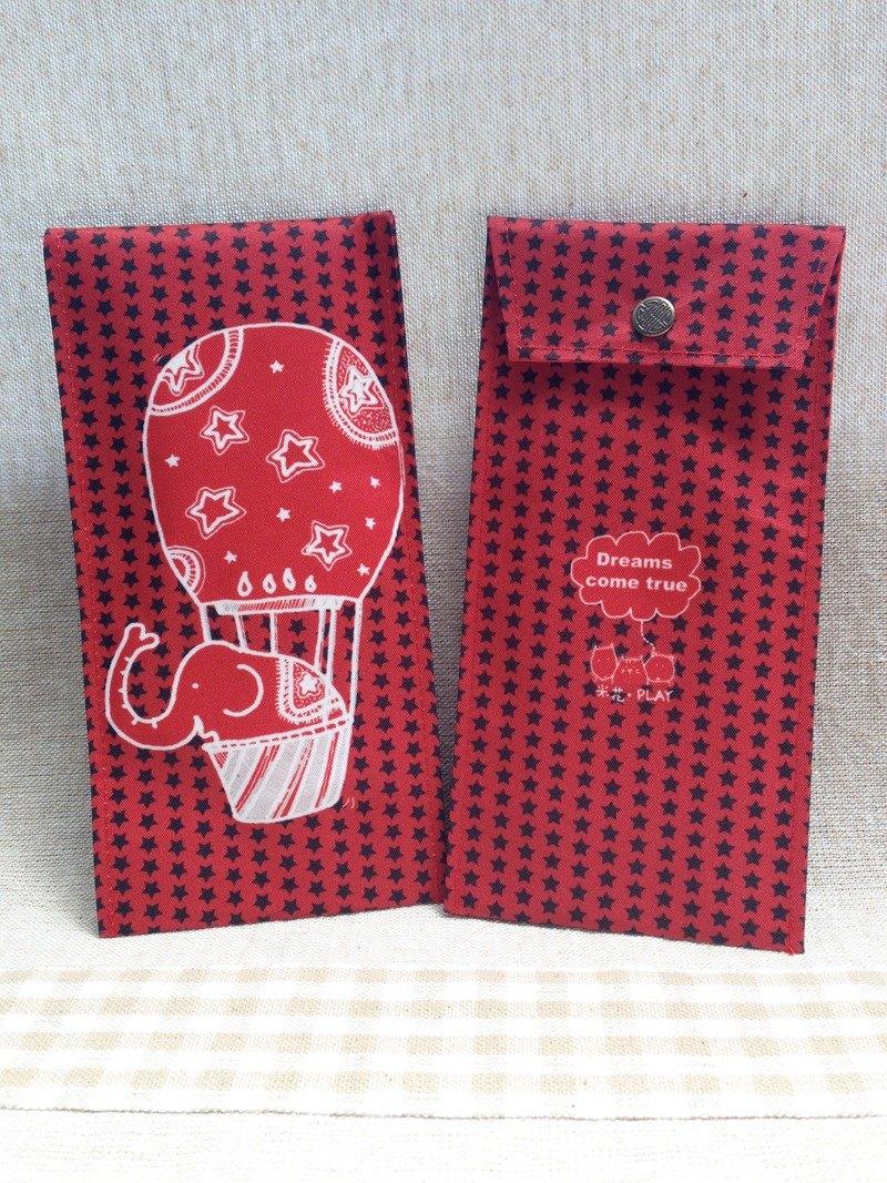new rice flower green red envelopes elephant edition designer