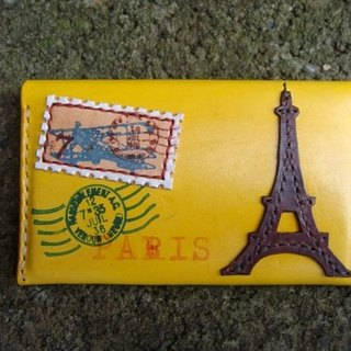 [ISSIS] envelope-type lightweight portable small card holder / card holder - (9) Loving Paris