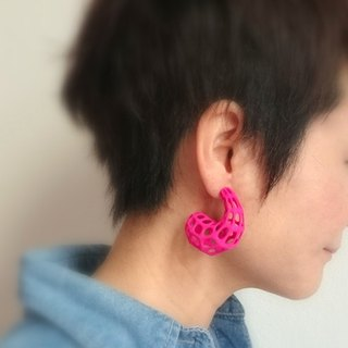 joop pink earrings