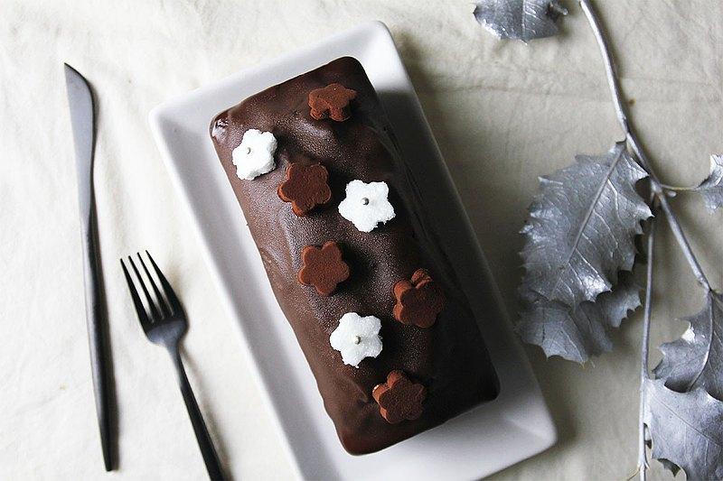 伯爵茶巧克力磅蛋糕   法國百年好茶與巧克力交織出貴族般的享受