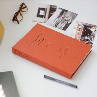 Iconic Collection Time 4X6 Photobook (100 sheets) - Classic Orange, ICO99897