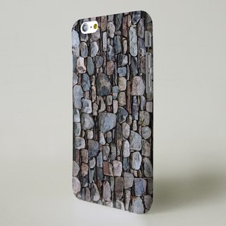 Slate Brick brown brick wall 3D Full Wrap Phone Case, available for  iPhone 7, iPhone 7 Plus, iPhone 6s, iPhone 6s Plus, iPhone 5/5s, iPhone 5c, iPhone 4/4s, Samsung Galaxy S7, S7 Edge, S6 Edge Plus, S6, S6 Edge, S5 S4 S3  Samsung Galaxy Note 5, Note 4, No