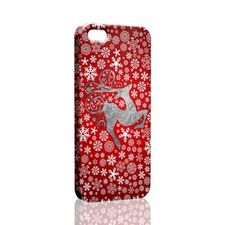 Loving winter snow deer red pattern custom Samsung S5 S6 S7 note4 note5 iPhone 5 5s 6 6s 6 plus 7 7 plus ASUS HTC m9 Sony LG g4 g5 v10 phone shell mobile phone sets phone shell phonecase