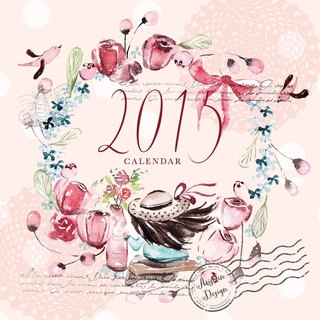 [Garden] Ariselin Design 2015 swing triangle desk calendar (second edition pre-order)