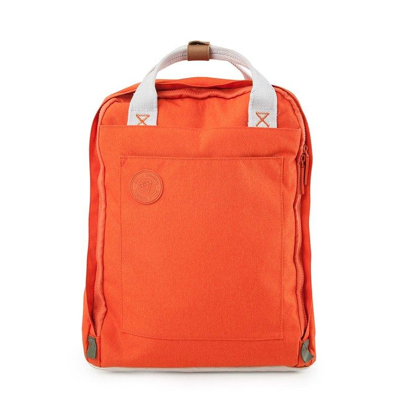GOLLA 北歐芬蘭時尚極簡後背包 -G1715 橘色 (搶購1111)
