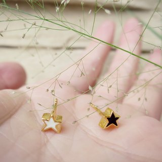Mini Star Stereo Earrings