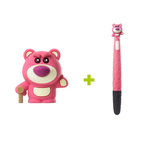 Bone / Bear Holder Pen (16G) + Bear Holder Pen (Bear and Bear Combination)