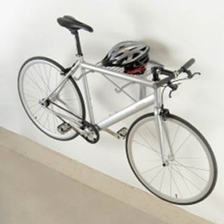 Two Bike wall-mounted frame
