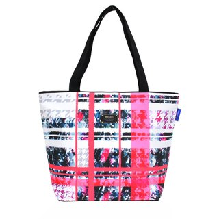COPLAY  tote bag-pink plaid sweet heart