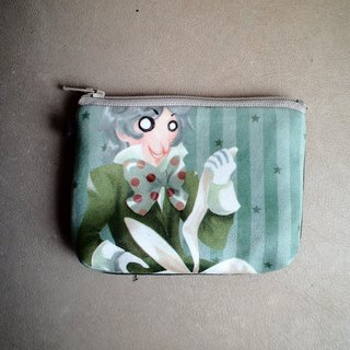 Hand Sandwich purse ▌ ▌ Alice in Wonderland mad hatter magician