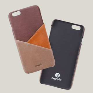 [Hot money] Baileys - i6 / i6S PLUS leather back cover of the phone - brown