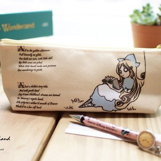 Rocker canvas pencil tree Alice ▌ ▌ ▌ZoeL original illustrations of Alice in Wonderland