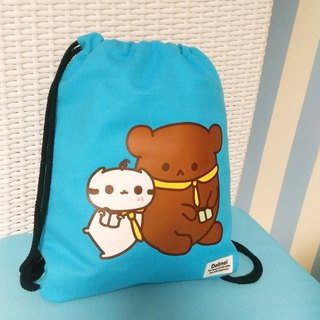 Long live the friendship Dollmei backpack _ _ after cute cats beam port Backpack (blue)