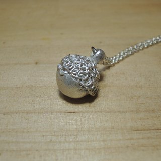 [SES] Silver small pine cones, hand-made silver jewelry